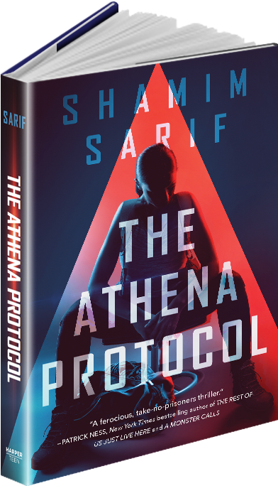 The Athena Protocol, book by Shamim Sarif, Award-Winning Novelist