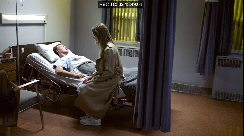 Ann Rule House on Fire hospital scene Shamim Sarif