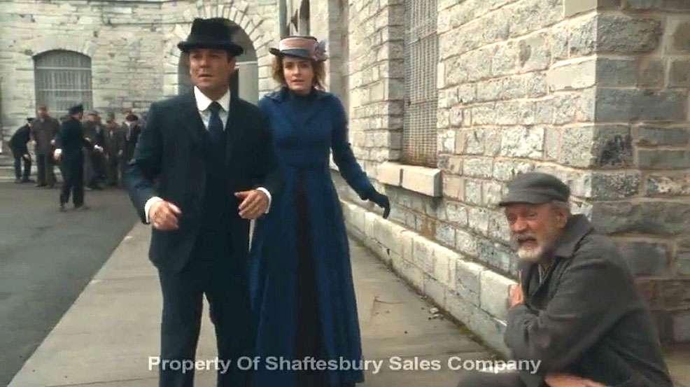 Murdoch Mysteries prison breakout scene filmed by Shamim Sarif