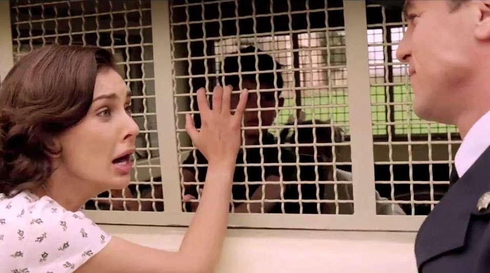 police threaten Miriam the World Unseen by Shamim Sarif